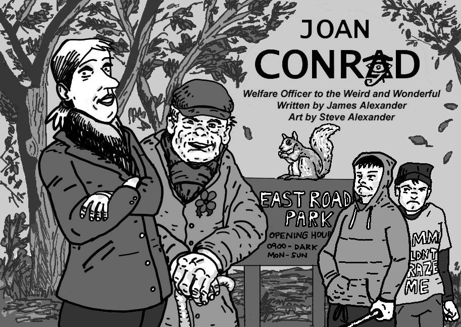 Joan Conrad case files: Bill Mastiff Cover